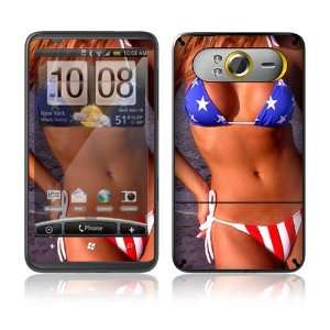 US Flag Bikini Decorative Skin Cover Decal Sticker for HTC