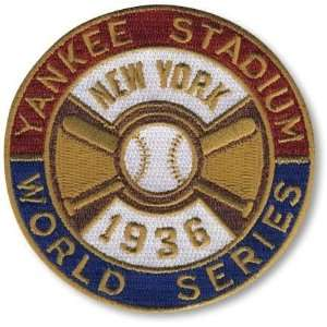Patch Pack   1936 New York Yankees World Series MLB Baseball Patches