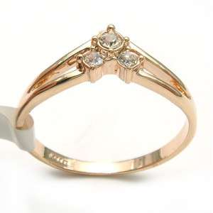 18k Yellow Gold Plated Wedding Ring  90636