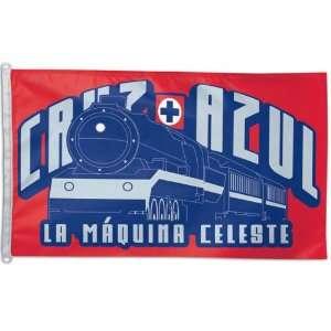 Club Deportivo Social y Cultural   Cruz Azul 3x5 Flag