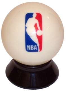 NBA Basketball LOGO Pool Billiard Cue/8 Ball   NEW