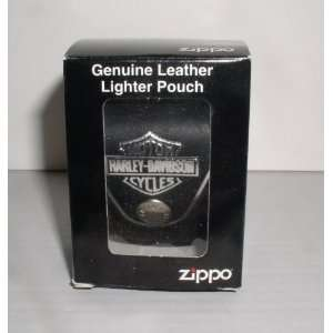 ZIPPO HARLEY DAVIDSON CYCLE LIGHTER POUCH WITH BELT SNAP