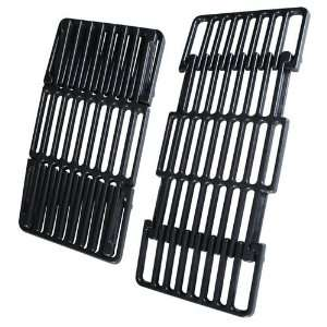 Universal Porcelain Coated Cast Iron Grill Grate Patio, Lawn & Garden