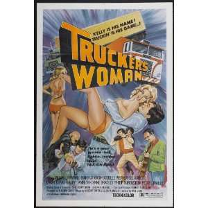 Truckers Woman Movie Poster (11 x 17 Inches   28cm x 44cm) (1975