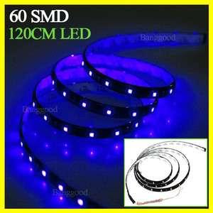 120cm 60 SMD LED Flexible Car Strip Light Waterproof