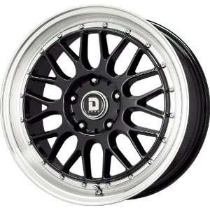 Drag D45 Gloss Black Wheel with Machined Lip (17x7.5
