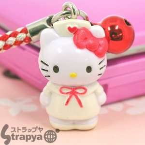 Sanrio Hello Kitty Nurse Cell Phone Strap Series   White
