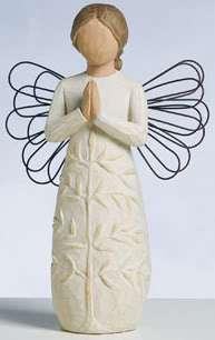 may you find Strength Angel Figurine Willow Tree Demdaco NIB a tree, a