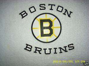 BOSTON BRUINS LOGO HOCKEY WALLPAPER BORDER CUT OUTS
