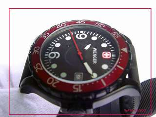 Wenger Swiss Army Military RANGER Black PVD Steel Watch