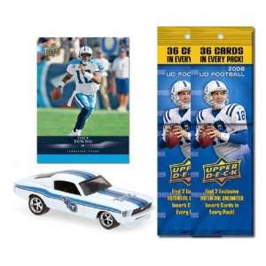 Tennessee Titans 1967 Ford Mustang Fastback Die Cast with Vince Young