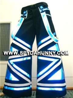 Spydahunny Rave Shuffle Ghetto Blaster PHAT PANTS   Custom Fit