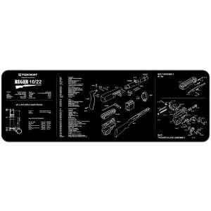 UAG Gunsmith & Armorers Cleaning Work Tool Bench Gun Mat