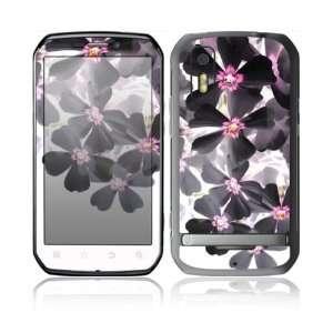 Motorola Photon 4G Decal Skin Sticker  Asian Flower Paint
