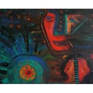 Awakening by PAO TAO Original Art Acrylic Painting 24 x