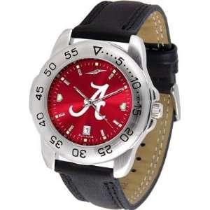 Alabama Crimson Tide  University Of Sport Leather Band Anochrome   Men