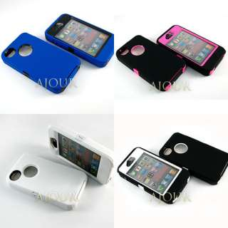 2012 New DEFENDER iPhone 4 4S Heavy Duty Tough Colourful Case Cover