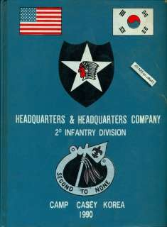 1990 U. S. ARMY HQ COMPANY, 2ND INFANTRY DIVISION YEARBOOK, CAMP CASEY