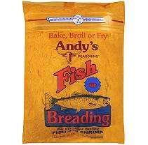 Andys Seasoning Fish Breading Red   5 lb.