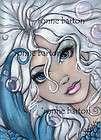 ACEO Fairy Fantasy Art EXOTIC PEACOCK MERMAID Ltd. Ed.