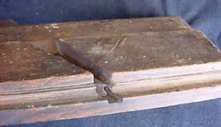 Antique WOODEN Wood PLANE Moulding Sanducky OHIO Tool