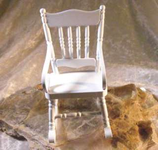 Rosalie by claudia raddi ooak art doll sculpture no for Small wooden rocking chair for crafts