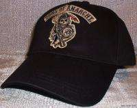 SONS OF ANARCHY Embroidered Grim Reaper Logo Baseball Cap HAT
