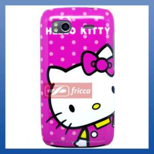 HELLO KITTY HARD COVER CASE FOR HTC SENSATION 4G