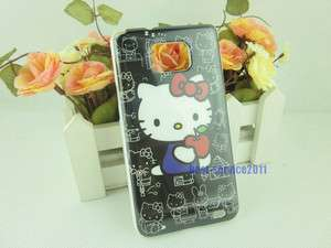 Brand New Hello kitty Hard Case Cover Skin For Samsung Galaxy S II