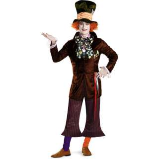 Alice in Wonderland Mad Hatter Halloween Costume
