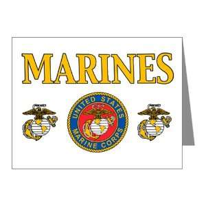 Note Cards (10 Pack) Marines United States Marine Corps