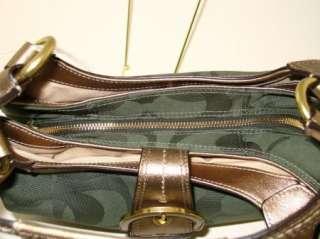 COACH Bag SOHO Textured Opt Green Hobo NWT F17396 885135722054