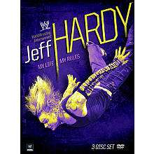 WWE Jeff Hardy My Life My Rules 3 Disc DVD   World Wrestling   Toys