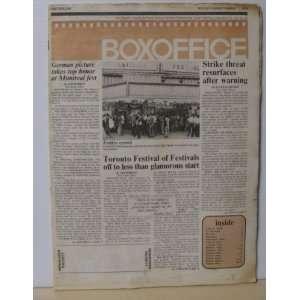 Boxoffice Magazine September 17, 1979 Ben Shlyen Books