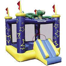 Draco the Magic Dragon Inflatable Castle Bouncer   Shooting Star