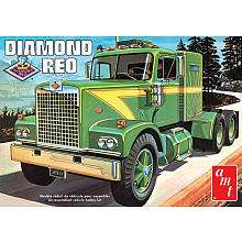 25 Scale Diamond Reo Tractor Model Kit   Mega Hobby