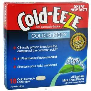 Cold EEZE Cold Remedy Lozenges Mint Frost    18 Lozenges