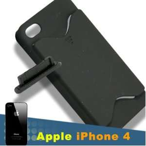 [Aftermarket Product] Apple iPhone 4 S Black Case Cover With Id
