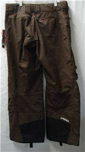 Spyder Womens First Track Snow Ski Pants Small Brown NEW