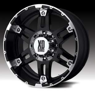17 inch KMC XD Spy black wheels rims 5x135 Ford F150