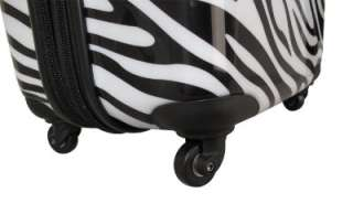 Heys Exotic Spinner 26 Safari Luggage Case ZEBRA