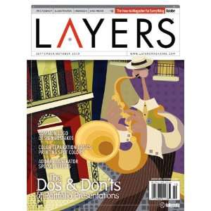 Layers Magazine September/October 2010 Issue Kelbymedia Books