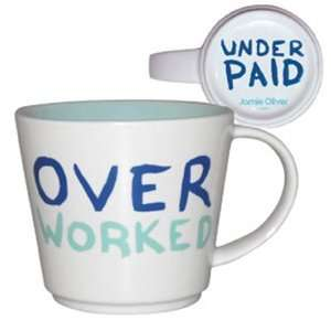Jamie Oliver Over Worked Mug in Box [Kitchen & Home