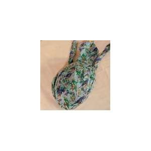 Blue Hawaiian and Parrot Tropical Patterned Bandana Cap
