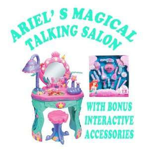 Disney Princess Ariel Magical Talking Salon and