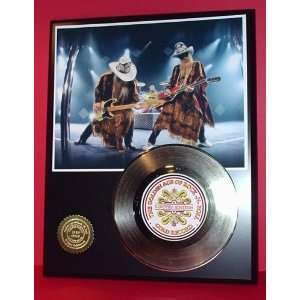 Z Z TOP GOLD RECORD LIMITED EDITION DISPLAY Everything