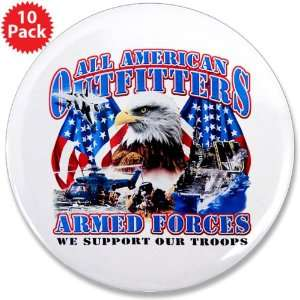 (10 Pack) All American Outfitters Armed Forces Army Navy Air Force