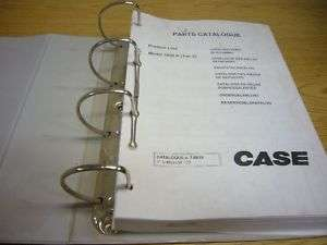 Case 1850K Crawler Dozer Parts Catalog Manual