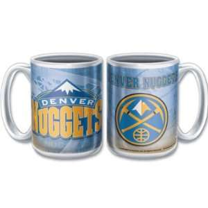 DENVER NUGGETS 15OZ CERAMIC COFFEE MUG Sports & Outdoors
