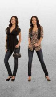 NEW GUESS PERSIA BELTED TUNIC TOP BLOUSE SHIRT XS, M